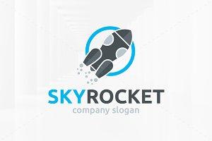 Sky Rocket Logo Template