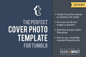 Tumblr Header Preview Template