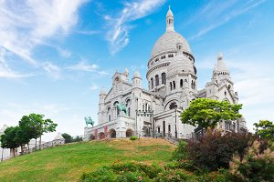 Sacre Coeur church, Paris