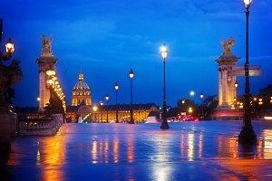 Alexandre III Bridge,  Paris, France
