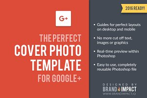 Google Plus Cover Photo Template