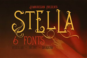 Stella - Decorative Font