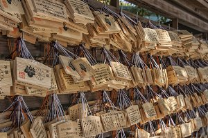 Japanese Ema prayer tablets