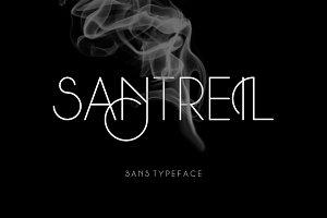Santreil Sans Typeface
