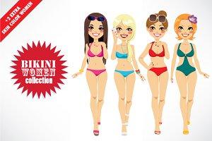 Bikini Women Character