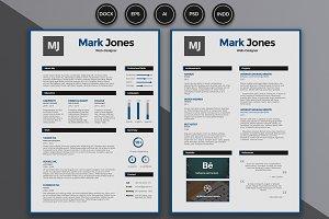 Resume / CV - Mark