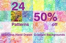 50% off. Gradient Patterns