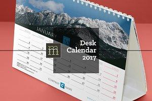 Desk Calendar 2017 (DC13)