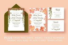Floral Garland Wedding Suite