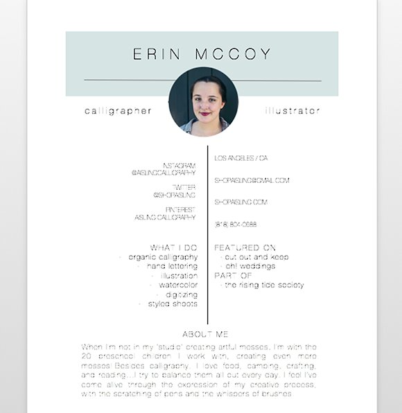 creative resume template resumes - Creative Resume