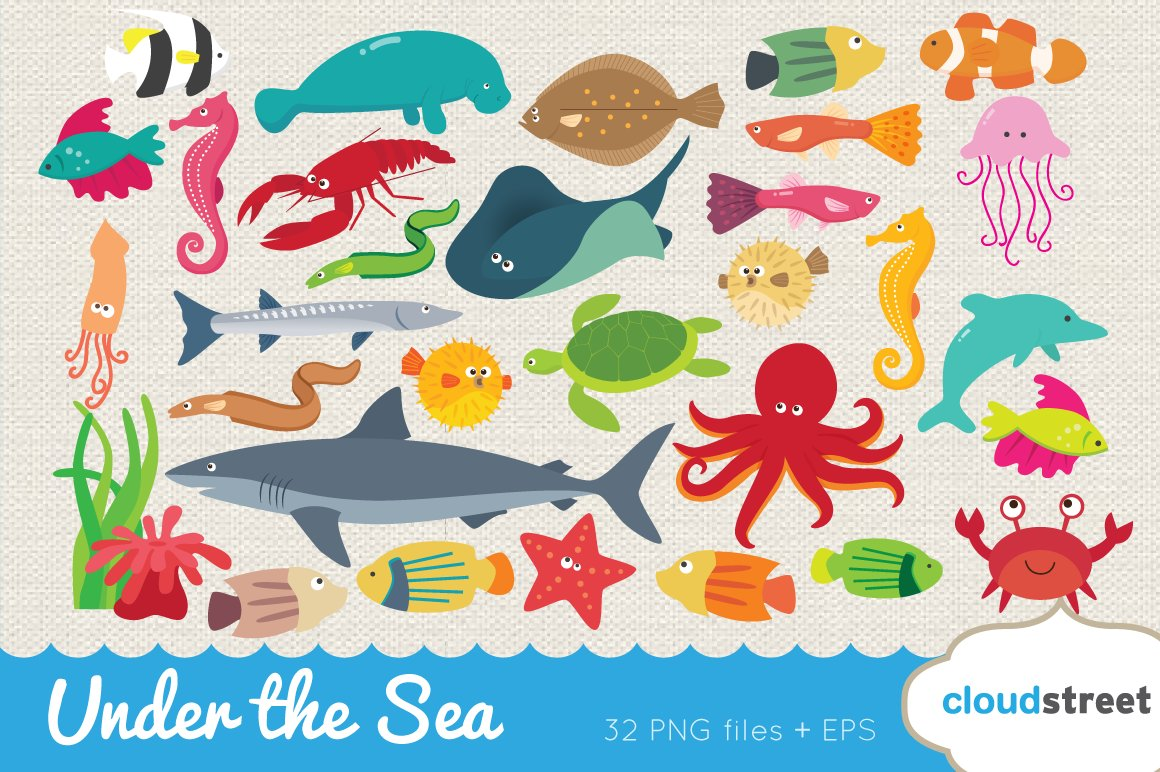 Clip Art Under The Sea Clip Art under the sea clipart photos graphics fonts themes templates clipart