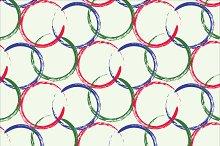 Zen circle background seamless
