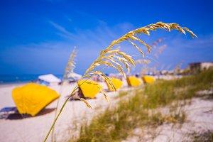 Ocean at Treasure Island Florida