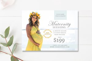Maternity Session Marketing Board