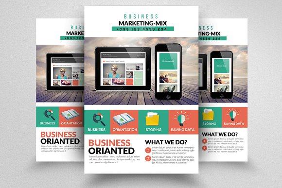 Digital Product Promotion Flyer ~ Flyer Templates ~ Creative Market