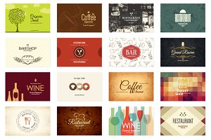 16 Restaurant Business Cards