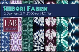 21 Shibori Tye Dye Fabric Textures