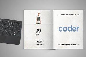 Coder - Portfolio and Resume