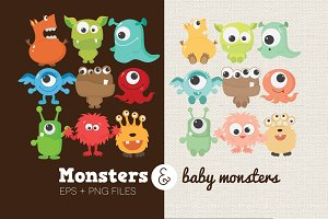 Monsters & Baby Monsters