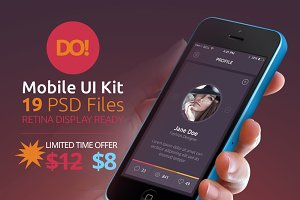 (33% OFF) DO! - Mobile UI Kit