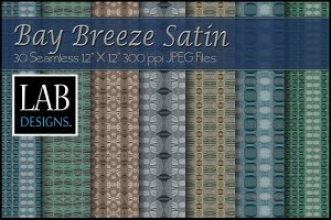 30 Satin Fabric Textures Bay Breeze
