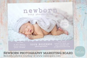 IN005 Newborn Marketing Board