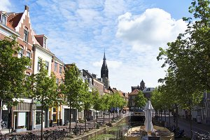 A Canal in Delft