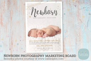 IN008 Newborn Marketing Board