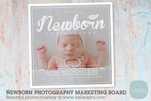 IN009 Newborn Marketing Board
