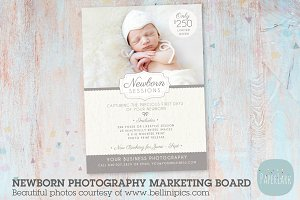 IN001 Newborn Marketing Board