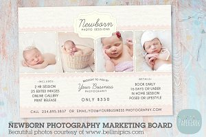 IN003 Newborn Marketing Board