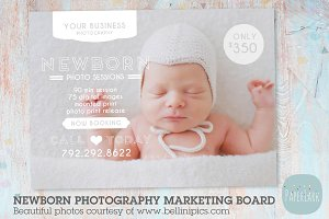 IN004 Newborn Marketing Board