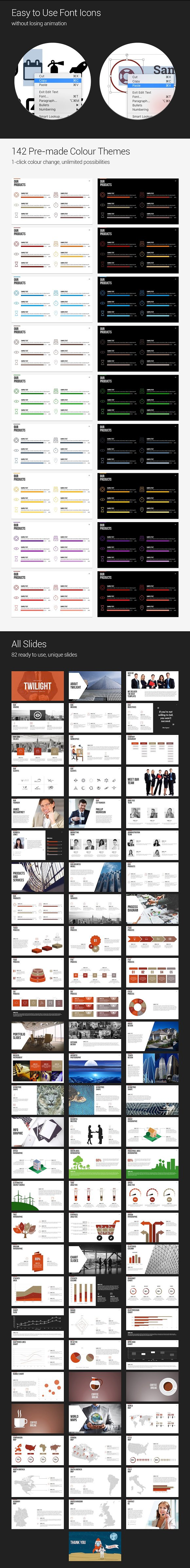 Twilight powerpoint template presentation templates creative twilight powerpoint template presentation templates creative market toneelgroepblik Image collections
