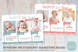 IB001 Newborn Marketing Board