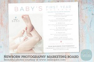 IB002 Newborn Marketing Board