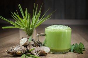 green tea ginger