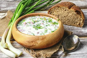 Summer cold soup