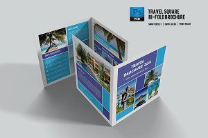Travel Brochure Template-V505