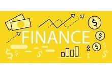 Finance Concept Banner