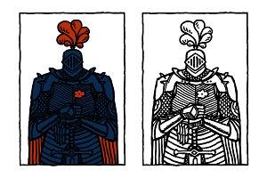 Love Knight in Frame