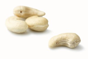 Macro photo of Cashews