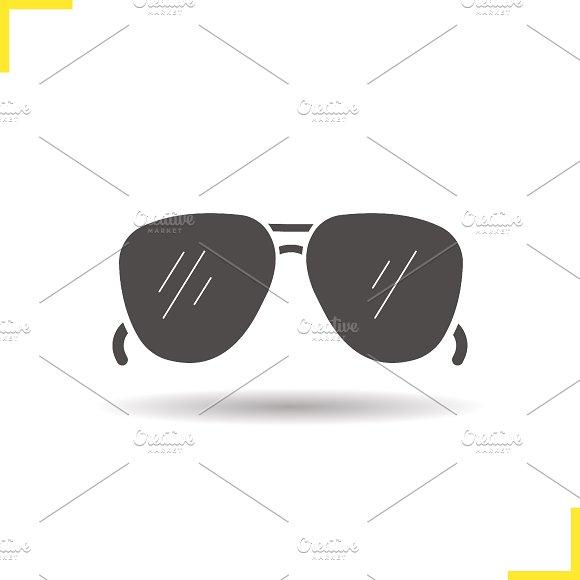 Sunglasses icon. Vector - Icons
