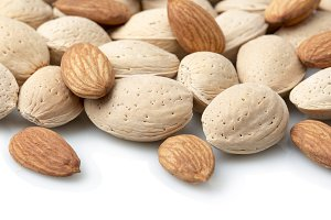 Almonds dry fruits