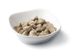 Ginger candy in bowl