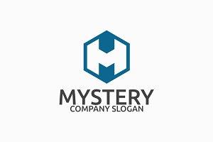 Mystery M Letter Logo