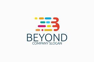 Beyond Letter B Logo