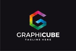 GraphiCube - Letter G Logo