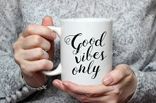 White Mug Mockup. For her