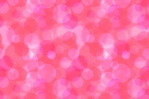 Pink bokeh abstract seamless pattern