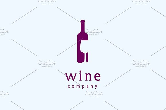 Wine Logo Vector